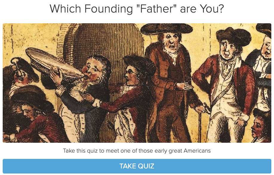 Which Founding Father Are You? Quiz