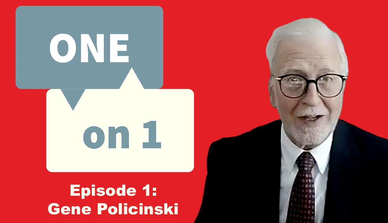 One on 1 with Gene Policinski