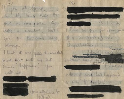 Postal Censorship WW1 First Amendment Lesson Plan
