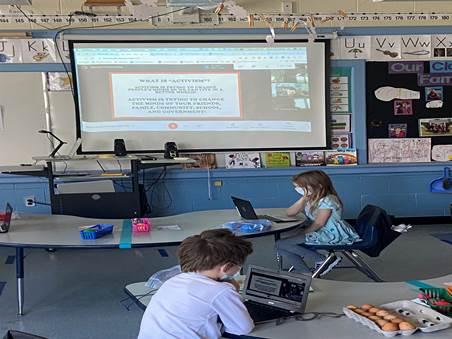 Virtual Field Trip Classroom