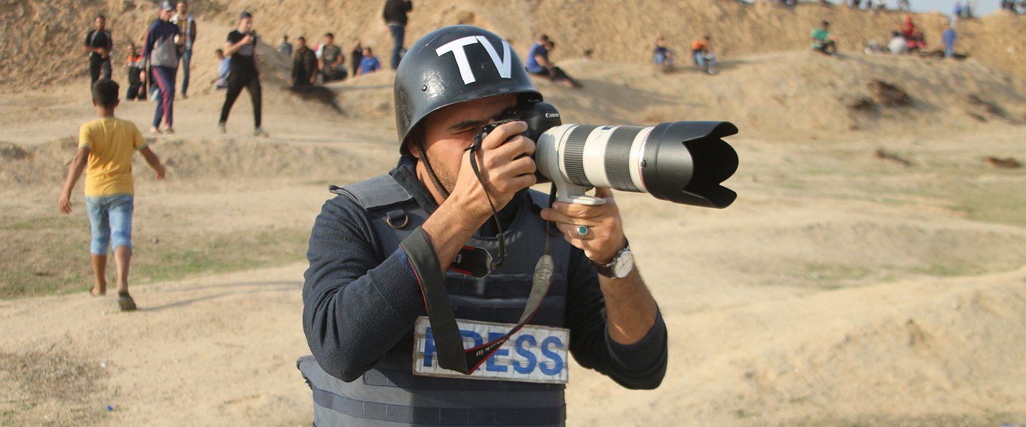 Journalists again in the crosshairs in Gaza Strip violence